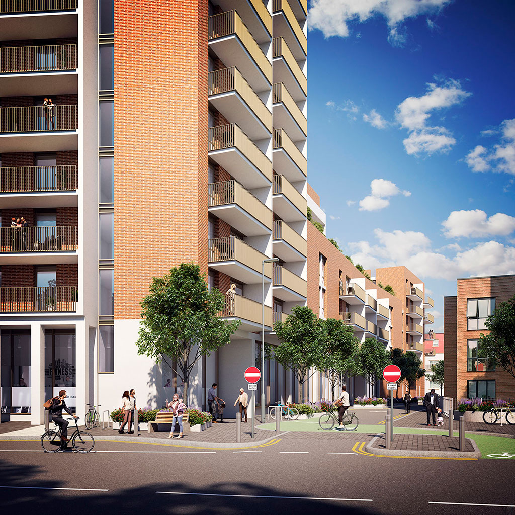 Bedminster Place - CGI