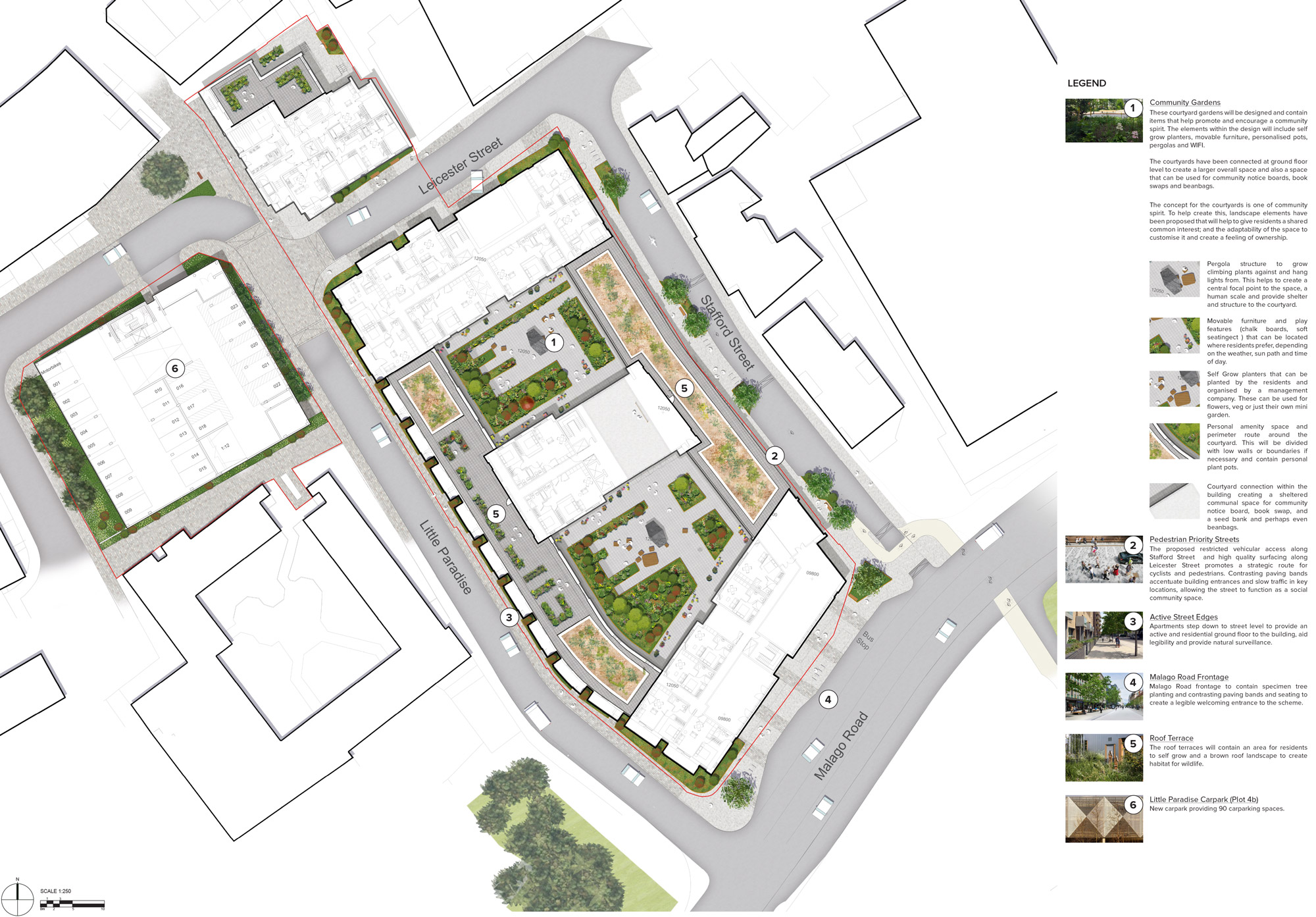 Masterplan plot 4 and 4b